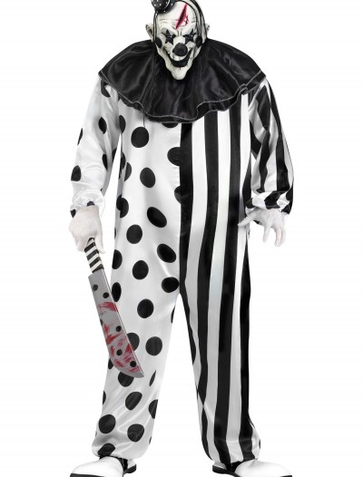 Killer Clown Plus Size Costume, halloween costume (Killer Clown Plus Size Costume)