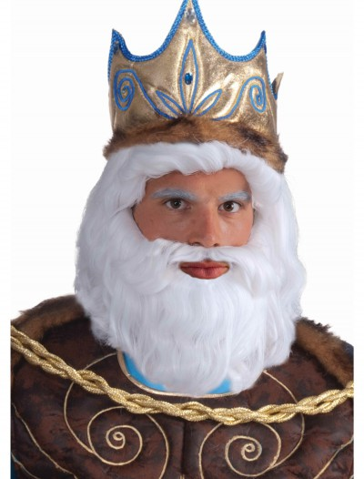 King Neptune Wig, halloween costume (King Neptune Wig)