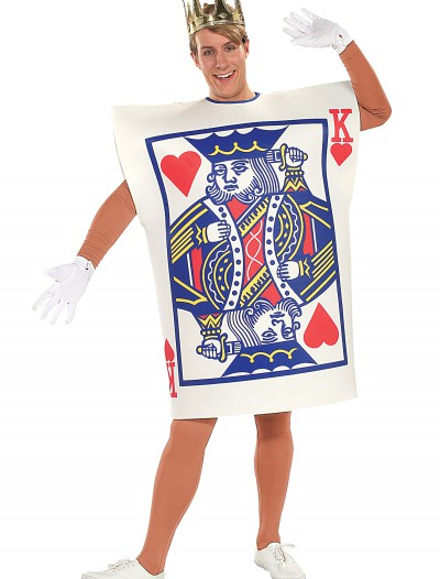 King of Hearts Card Costume, halloween costume (King of Hearts Card Costume)