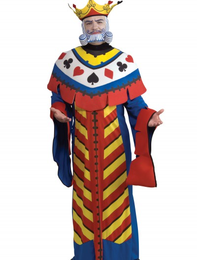 King of Hearts Playing Card Costume, halloween costume (King of Hearts Playing Card Costume)