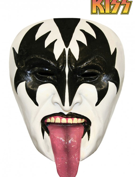 KISS Demon Half Mask, halloween costume (KISS Demon Half Mask)
