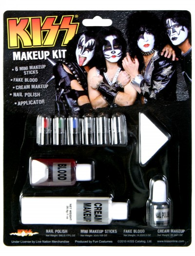 KISS Makeup Kit, halloween costume (KISS Makeup Kit)