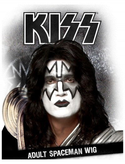 KISS Spaceman Wig, halloween costume (KISS Spaceman Wig)