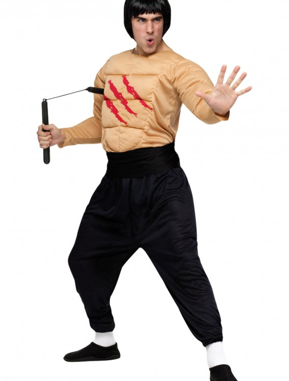 Kung Fu Master Costume, halloween costume (Kung Fu Master Costume)