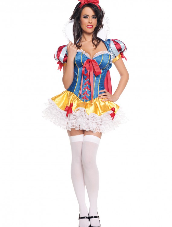 Lacy Sassy Snow White Costume, halloween costume (Lacy Sassy Snow White Costume)