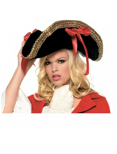 Ladies Pirate Hat, halloween costume (Ladies Pirate Hat)