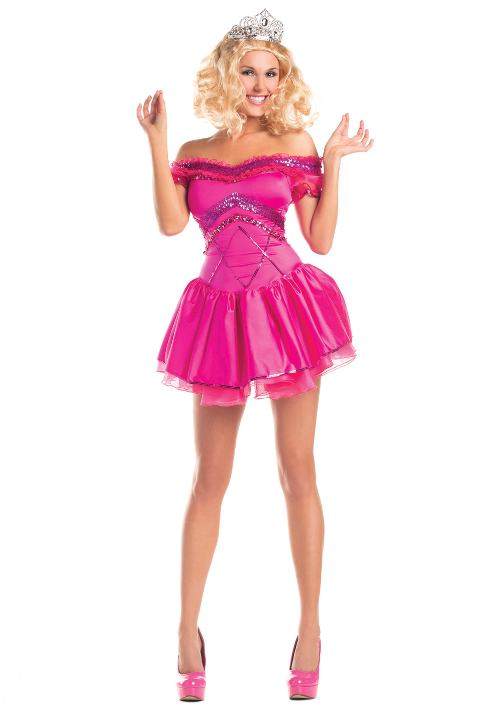 Ladies Redneck Pageant Princess Costume - Halloween Costumes