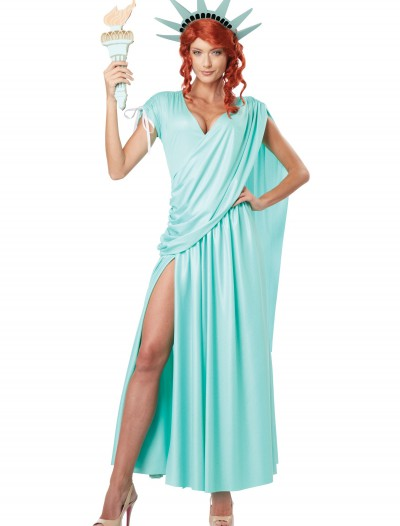 Lady Liberty Plus Size Costume, halloween costume (Lady Liberty Plus Size Costume)
