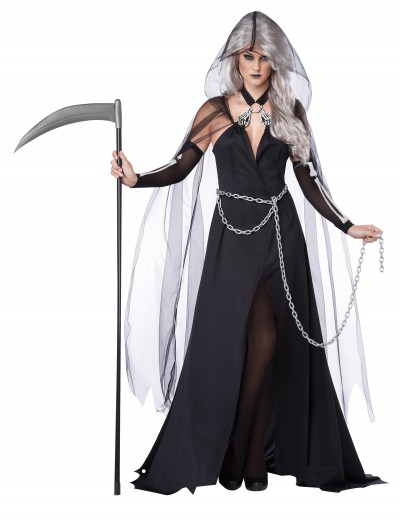 Women's Lady Reaper Costume, halloween costume (Women's Lady Reaper Costume)