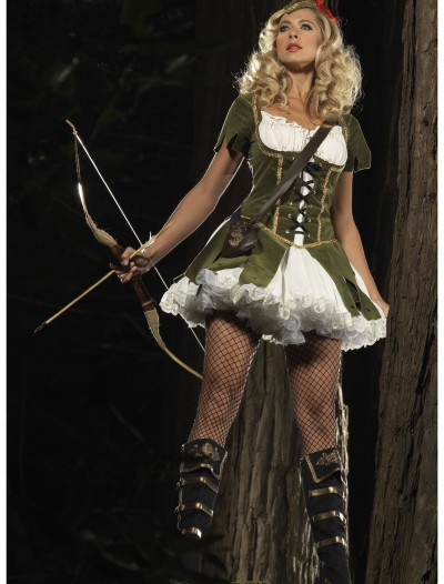 Lady Robin Hood Costume, halloween costume (Lady Robin Hood Costume)