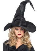 Large Ruched Witch Hat, halloween costume (Large Ruched Witch Hat)
