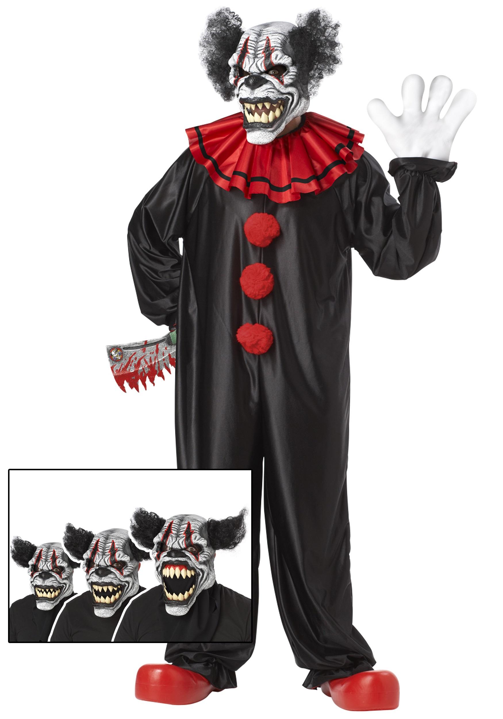 Last Laugh Clown Costume  sc 1 st  Halloween Costumes & Last Laugh Clown Costume - Halloween Costumes