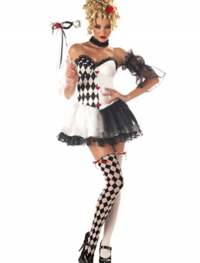 Le Belle Harlequin Costume, halloween costume (Le Belle Harlequin Costume)