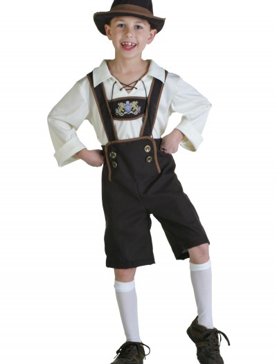 Lederhosen Boy Costume, halloween costume (Lederhosen Boy Costume)