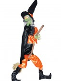 Leg Kicking Witch w/ Broom, halloween costume (Leg Kicking Witch w/ Broom)