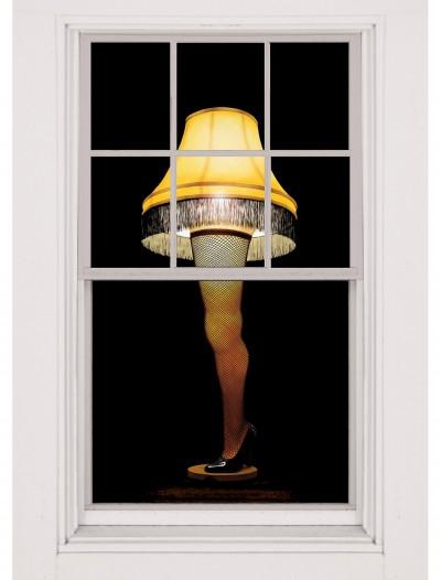 Leg Lamp Window Cling, halloween costume (Leg Lamp Window Cling)