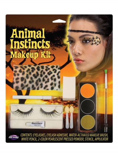 Leopard Animal Instincts Makeup Kit, halloween costume (Leopard Animal Instincts Makeup Kit)