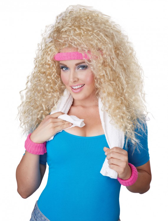 Let's Get Physical Wig, halloween costume (Let's Get Physical Wig)