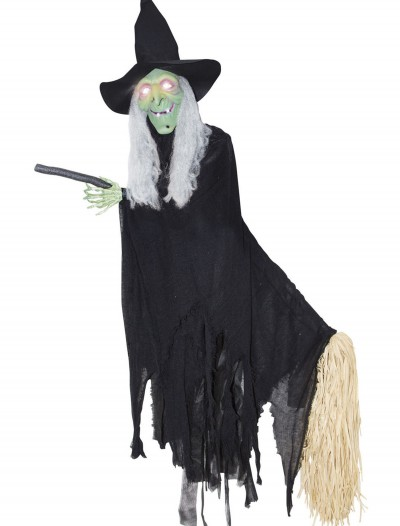 Lifesize Animated Flying Witch, halloween costume (Lifesize Animated Flying Witch)