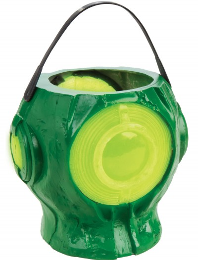 Light Up Green Lantern Treat Pail, halloween costume (Light Up Green Lantern Treat Pail)