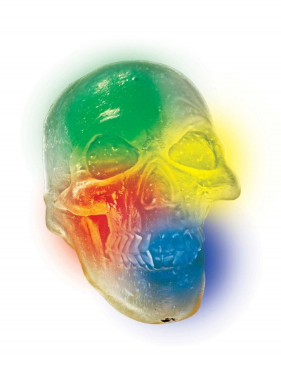 Light Up Indiana Jones Crystal Skull, halloween costume (Light Up Indiana Jones Crystal Skull)