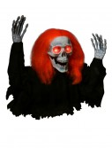 Light Up Orange Hair and Eyes Ground Breaker, halloween costume (Light Up Orange Hair and Eyes Ground Breaker)