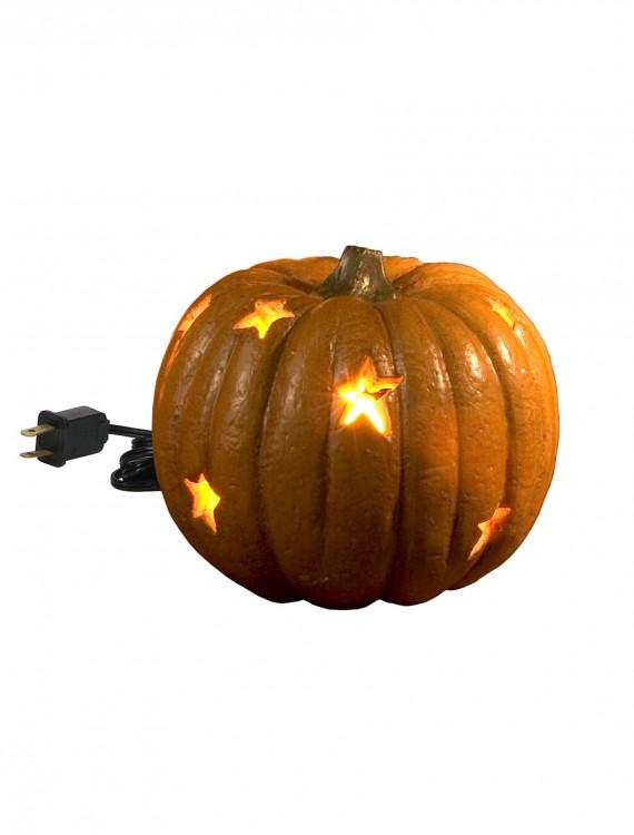 Lighted Stars Pumpkin, halloween costume (Lighted Stars Pumpkin)