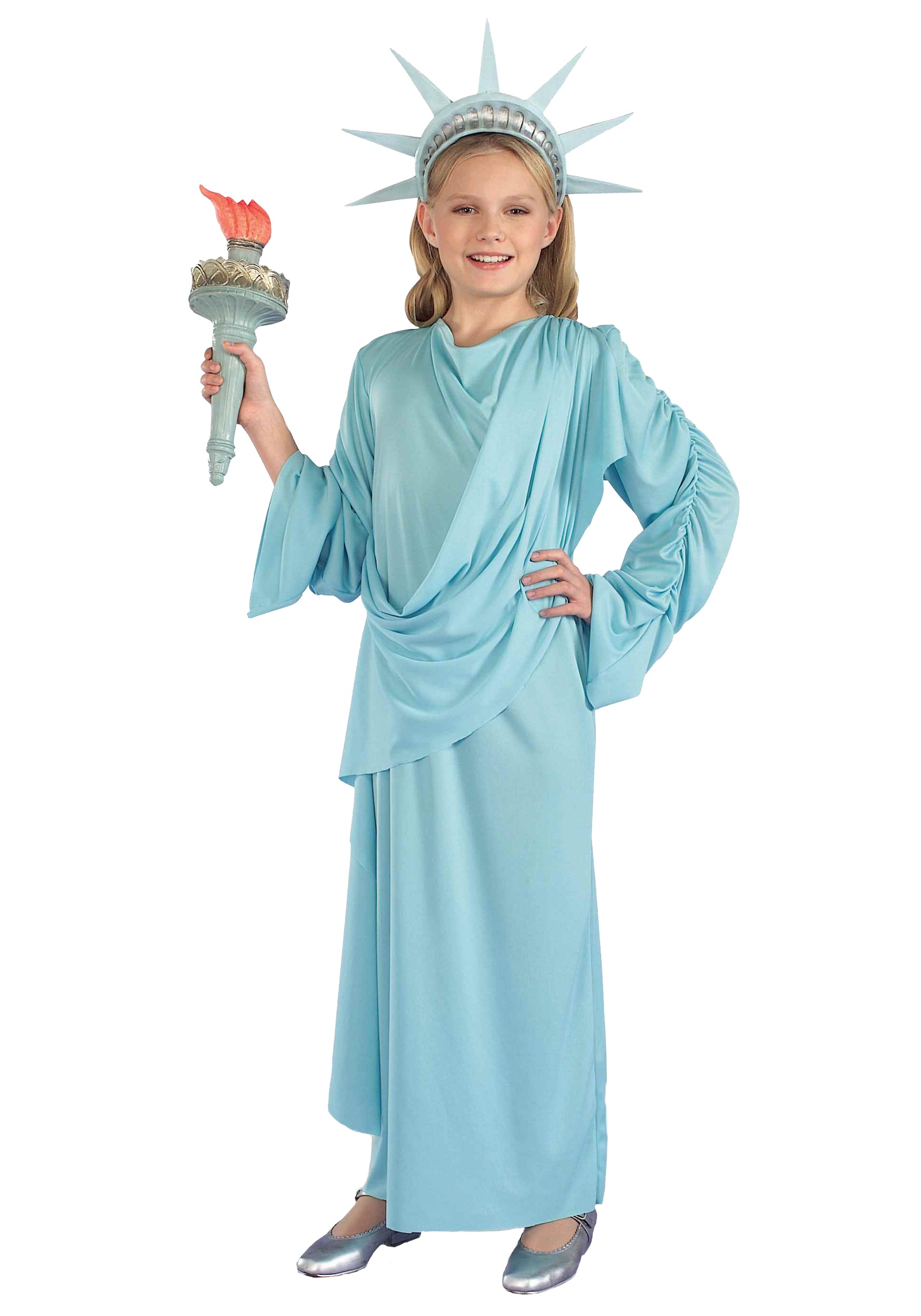 lil miss liberty child costume - halloween costumes