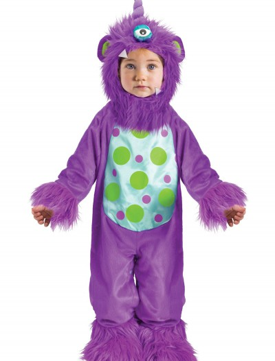 Li'l Monster Purple Costume, halloween costume (Li'l Monster Purple Costume)