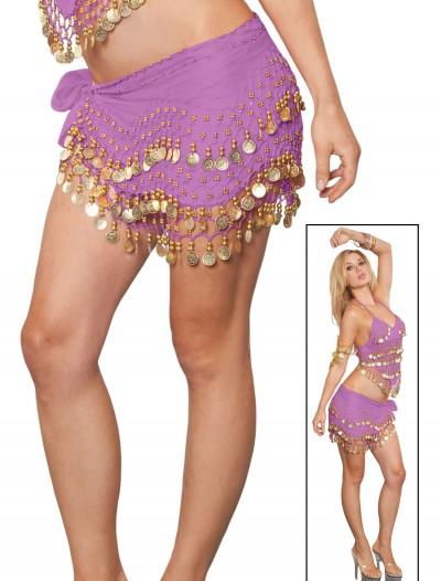 Lilac Ombre Coin Sash, halloween costume (Lilac Ombre Coin Sash)