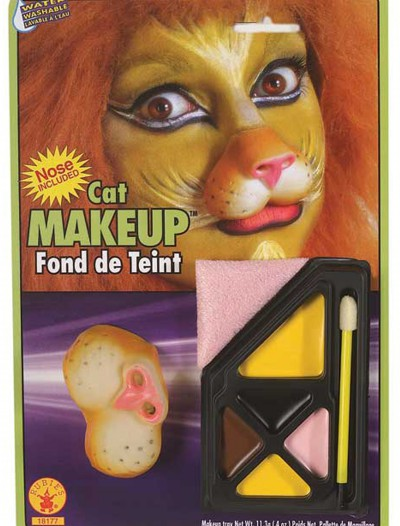 Lion Face Makeup, halloween costume (Lion Face Makeup)