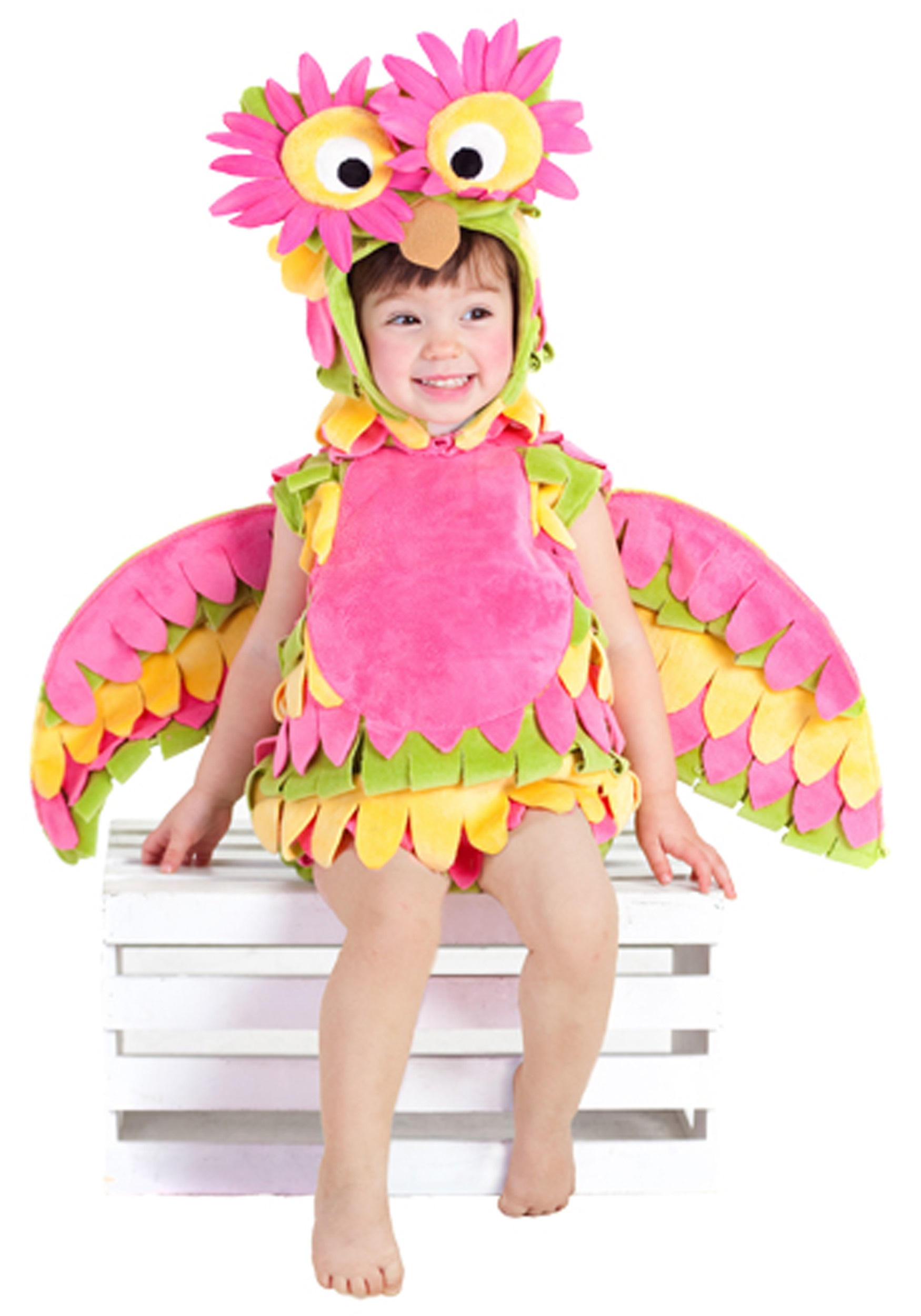 Little Colorful Owl Costume Halloween Costumes