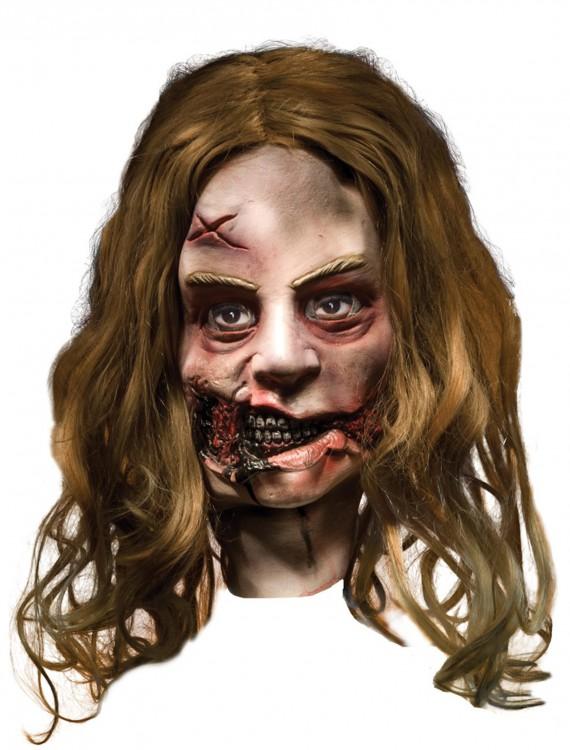 Little Girl Latex Mask, halloween costume (Little Girl Latex Mask)