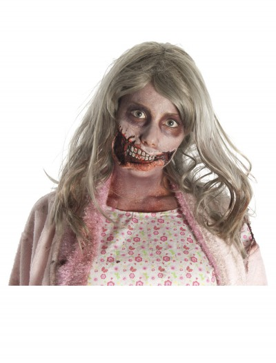 Little Girl Zombie Mouth Mask, halloween costume (Little Girl Zombie Mouth Mask)