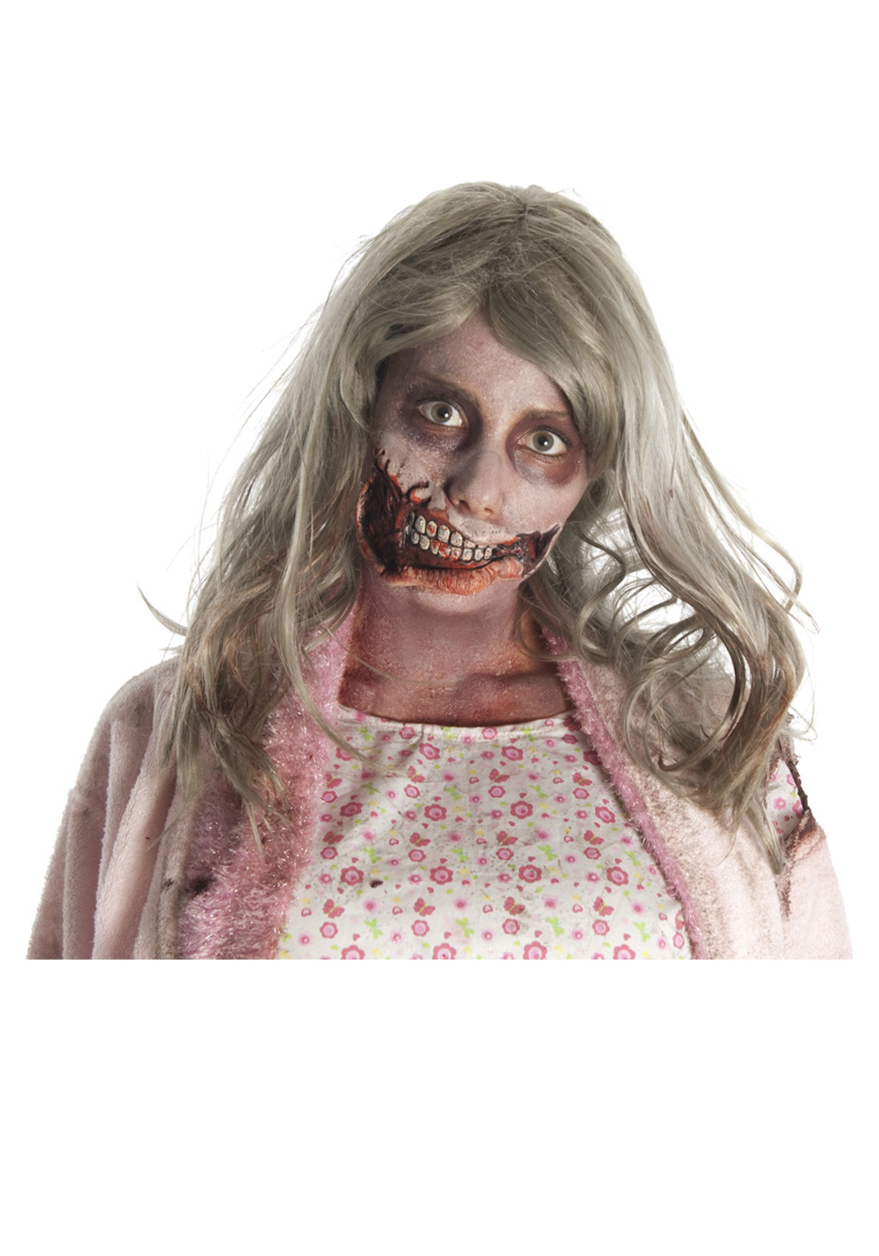little girl zombie mouth mask