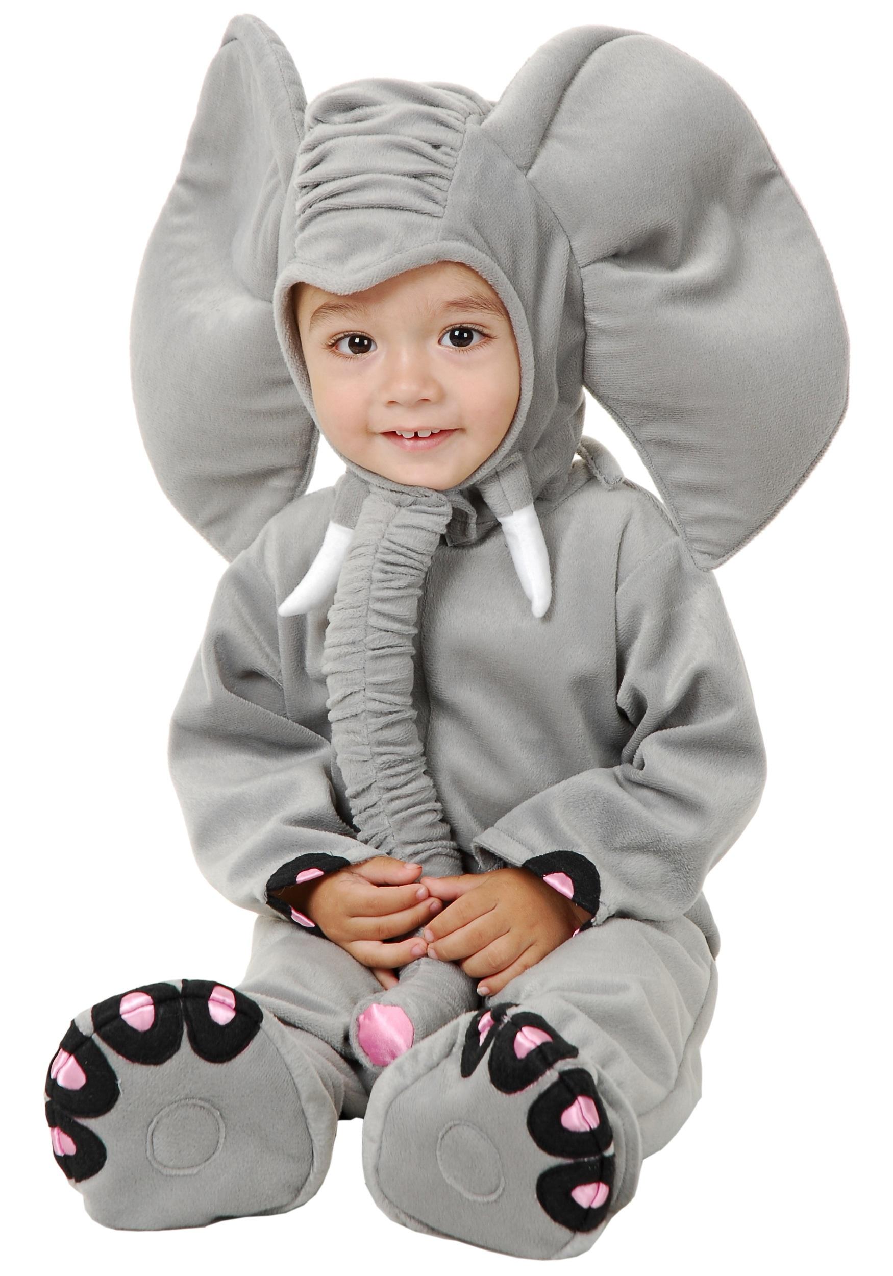 Little Grey Elephant Costume Halloween Costumes
