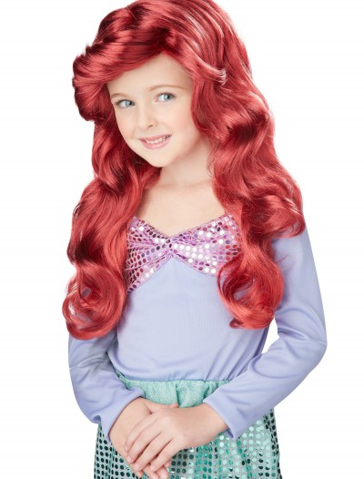 Lil Mermaid Wig, halloween costume (Lil Mermaid Wig)