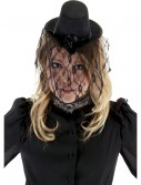 Victorian Small Black Top Hat, halloween costume (Victorian Small Black Top Hat)