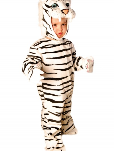 Little White Tiger Costume, halloween costume (Little White Tiger Costume)