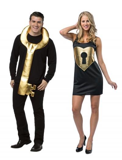 Lock and Key Couples Costume, halloween costume (Lock and Key Couples Costume)