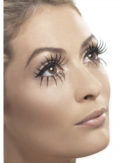 Long Black Eyelashes, halloween costume (Long Black Eyelashes)