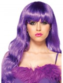 Long Wavy Purple Wig, halloween costume (Long Wavy Purple Wig)