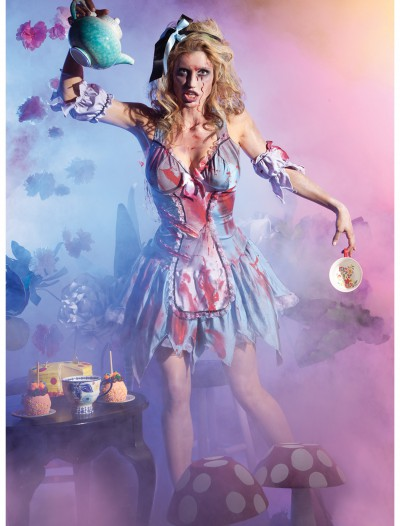 Looking Glass Zombie Alice Costume, halloween costume (Looking Glass Zombie Alice Costume)