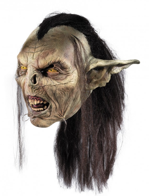 Lord of the Rings Moria Orc Mask, halloween costume (Lord of the Rings Moria Orc Mask)