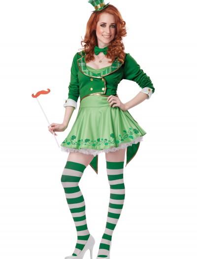 Lucky Charm Women's Leprechaun Costume, halloween costume (Lucky Charm Women's Leprechaun Costume)