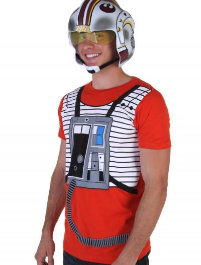Luke Flight Suit Costume T-Shirt, halloween costume (Luke Flight Suit Costume T-Shirt)