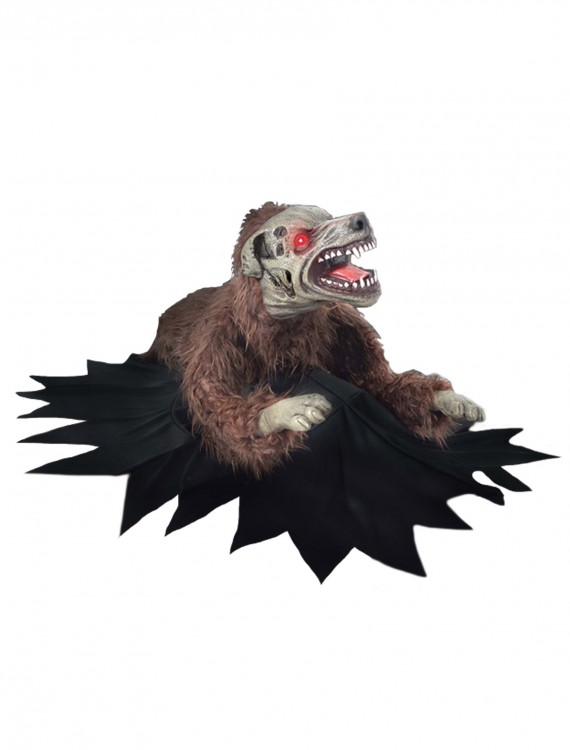 Lunging Dog Motion Decoration, halloween costume (Lunging Dog Motion Decoration)