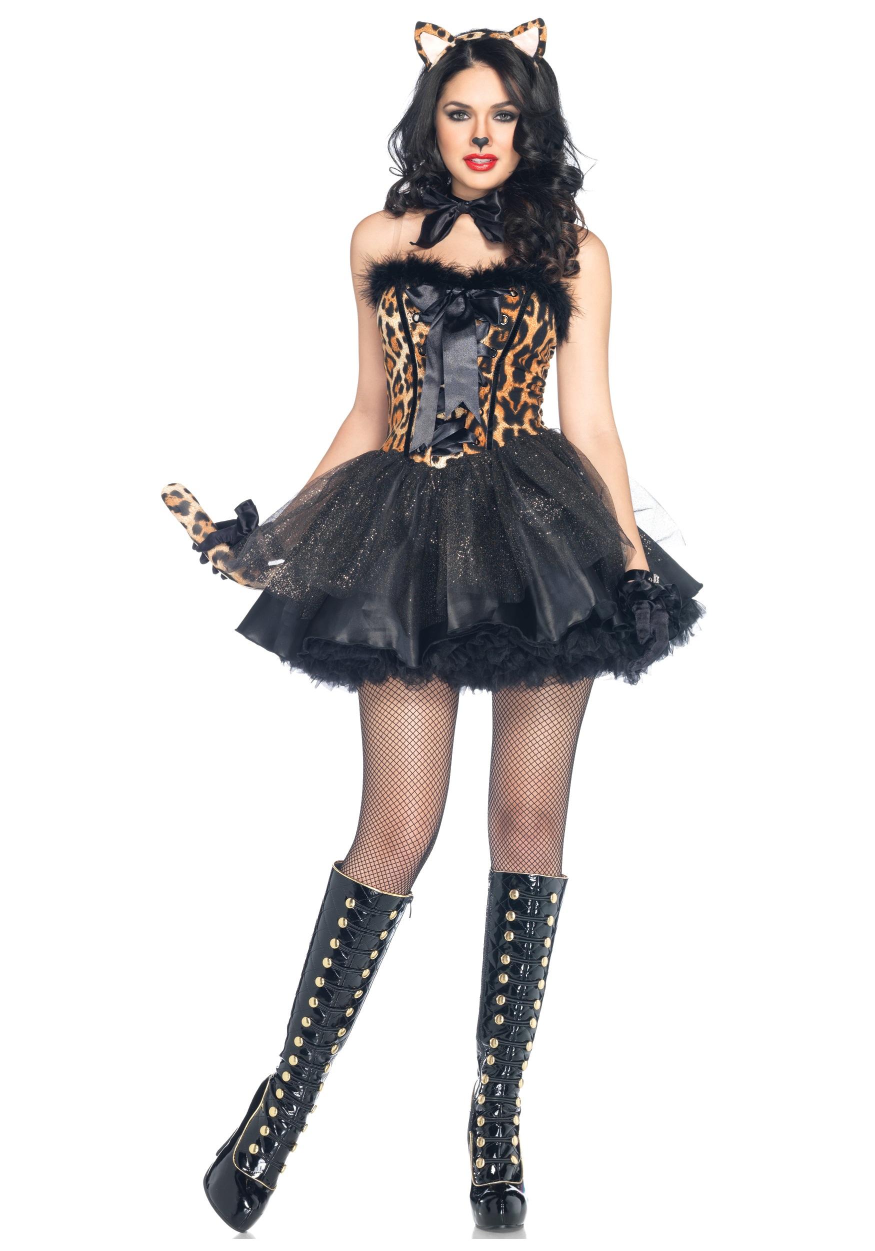 Luxe Leopard Costume  sc 1 st  Halloween Costumes & Luxe Leopard Costume - Halloween Costumes