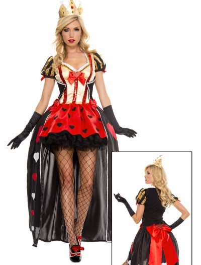 Luxurious Sequin Queen of Hearts Costume, halloween costume (Luxurious Sequin Queen of Hearts Costume)