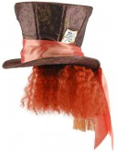 Mad Hatter Hat w/Hair, halloween costume (Mad Hatter Hat w/Hair)